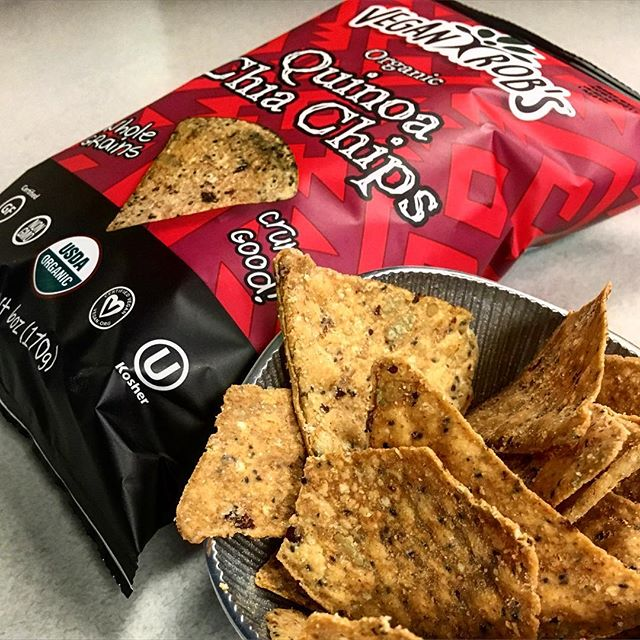 Vegan, Gluten-Free, non-GMO, Organic Chips