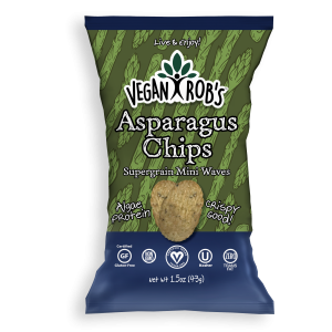 Vegan Asparagus Chips Small
