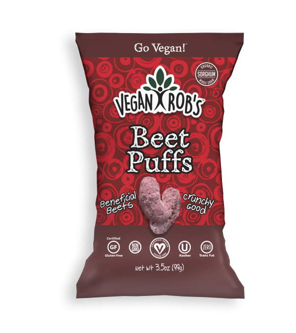 Vegan Beet Puffs Large