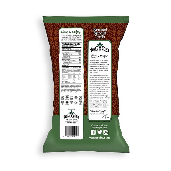 Brussel Sprouts Vegan Puffs Nutrition Facts