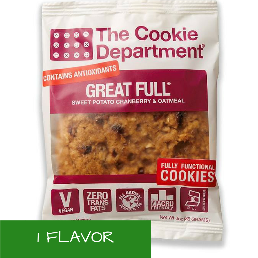 Vegan, Natural, Non-Gmo,Macro-Friendly, Organic Cookies