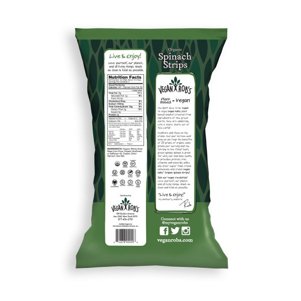 Spinach Strips Nutrition Facts