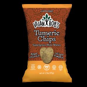 Vegan Tumeric Chips Small