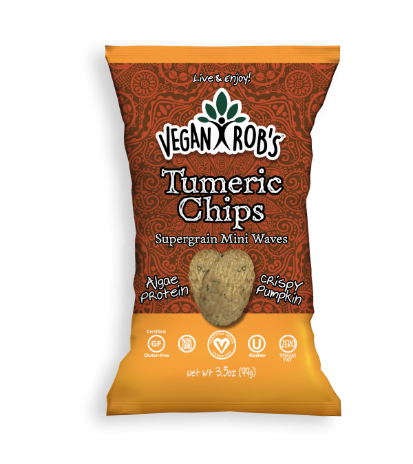 Vegan Tumeric Chips Large