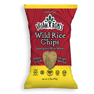 Vegan Wild Rice Chips Small
