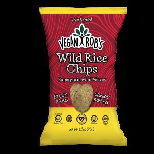 Vegan Wild Rice Chips Small