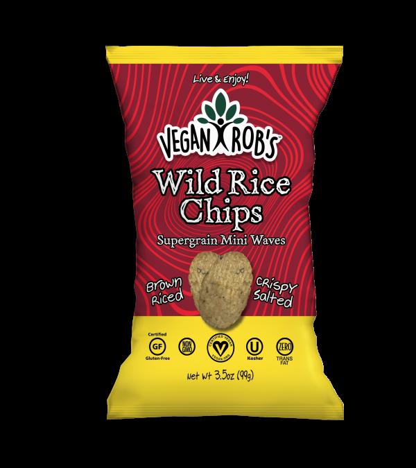 Vegan Wild Rice Chips Large