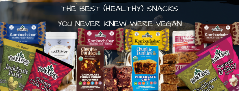 The Best (Healthy) Snacks You Never Knew Were Vegan