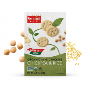 Deja Vegan Chickpea Rice Organic Mini Crackers