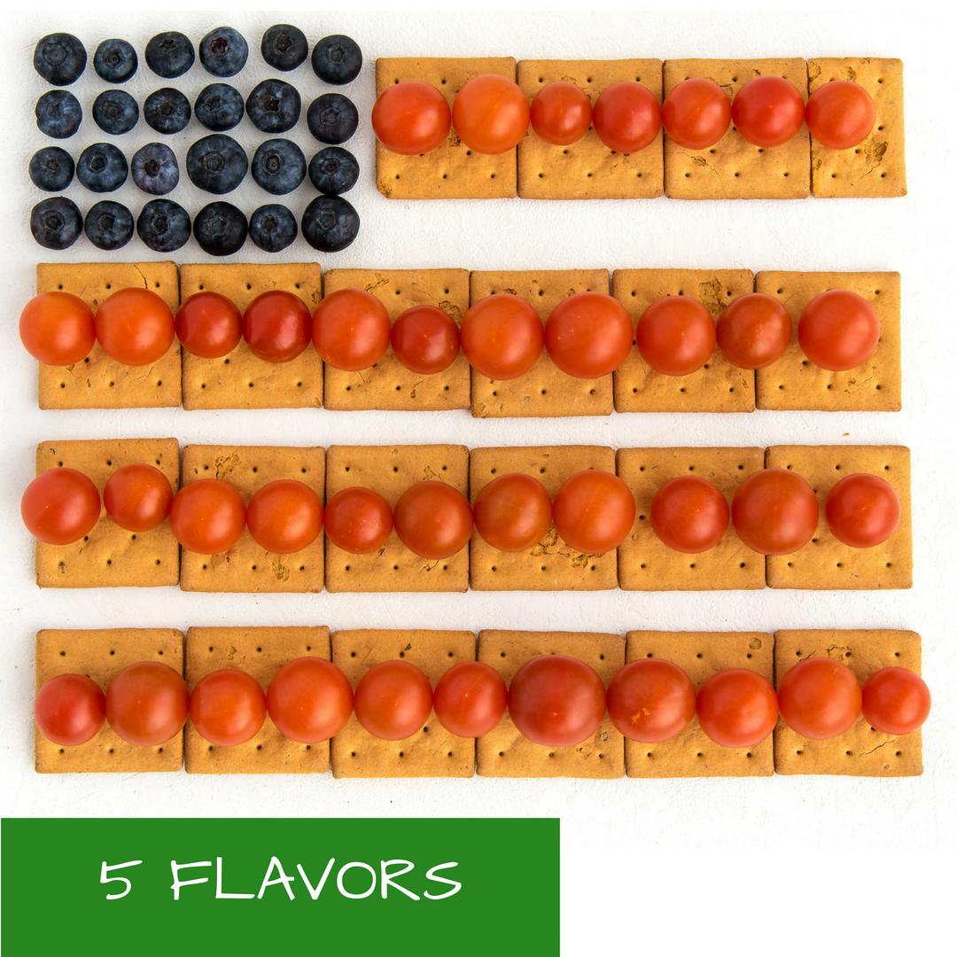 Vegan, Gluten-Free, non-GMO, Organic Crackers