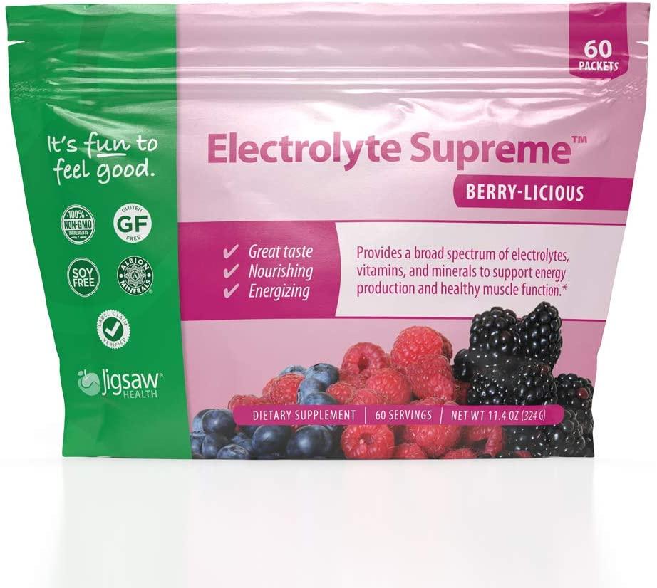 Vegan, Gluten Free, Non-Gmo, Natural, Jigsaw Health electrolyte supreme