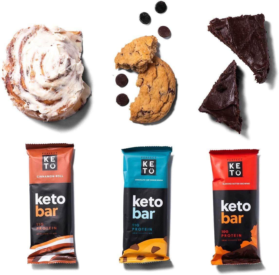 Vegan, Gluten Free, Non-Gmo, Natural, Organic, Keto bars
