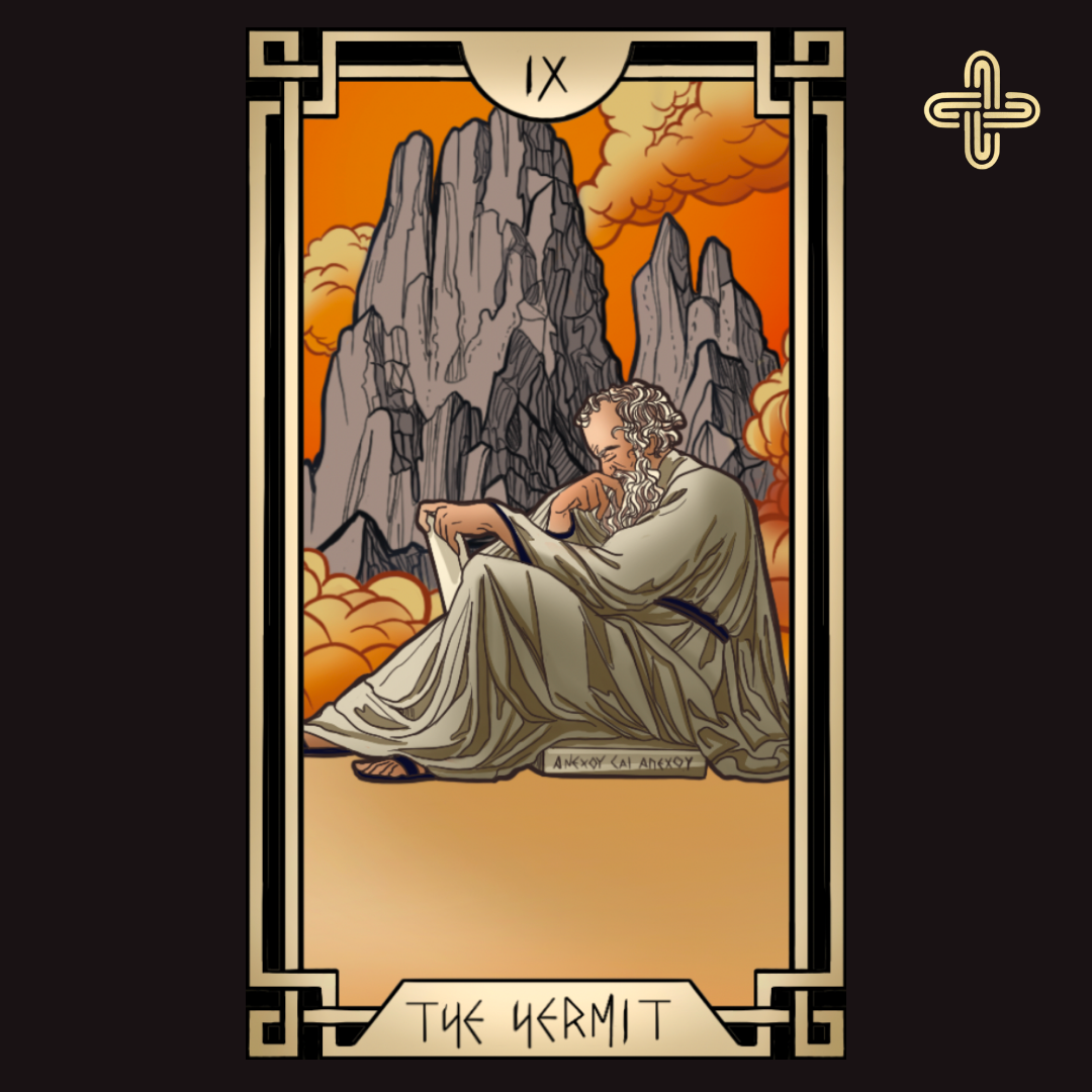 Stoic Tarot Deck - Tarot of the ancient stoics reinvented in captivating artwork inspired by greco-roman world